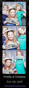 Priscilla and Stephen's Photo Booth