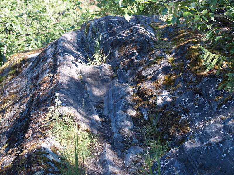 Glacial grooves!