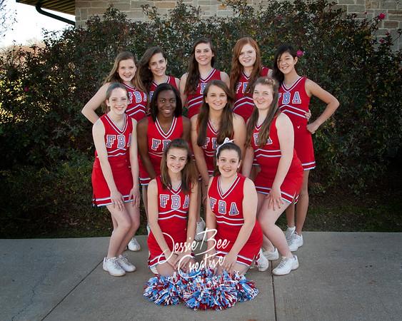 2012 FBA MS Cheer