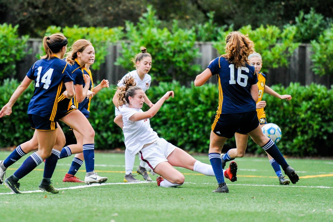 Menlo-Atherton Girls Soccer vs. Menlo School
