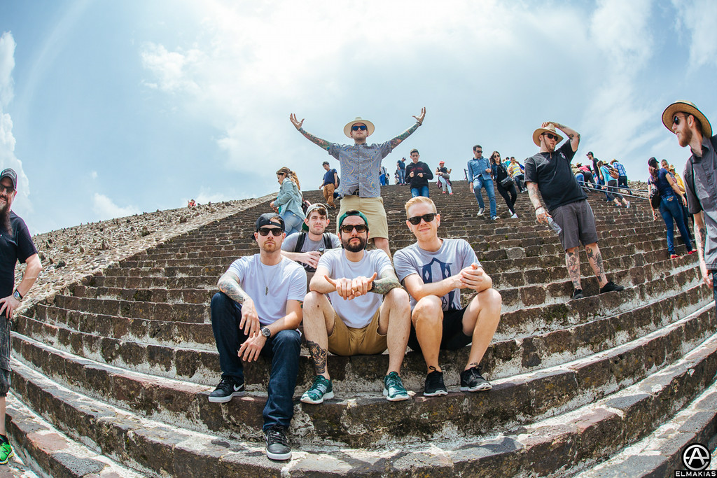 A Day To Remember on the Teotihuacan Pyramids by Adam Elmakias