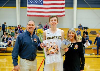 Basketball & Cheerleading Senior Recognition