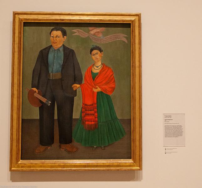 Frida and Diego Rivera, by Frida Kahlo