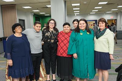 2019 Green Room Winter Graduation
