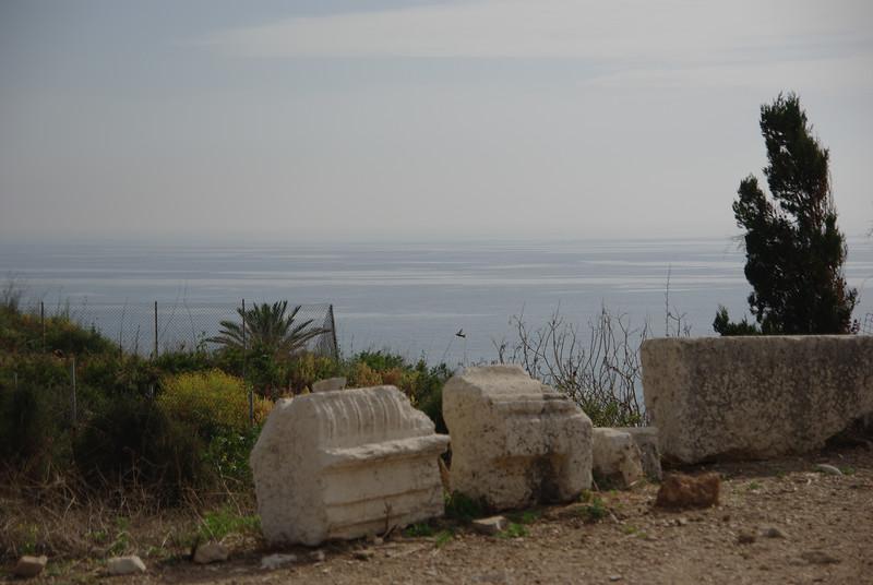 Morze Srodziemne w Byblos