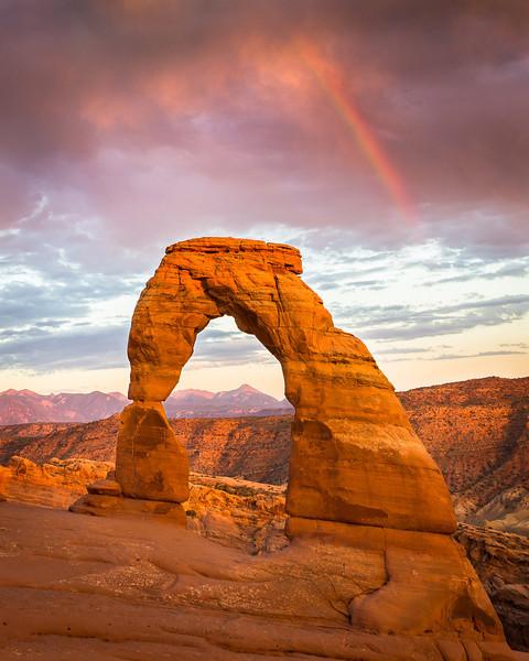 Delicate Rainbow