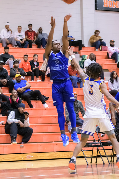 2020-01-25 Oscar Smith v John Marshall Boys Basketball