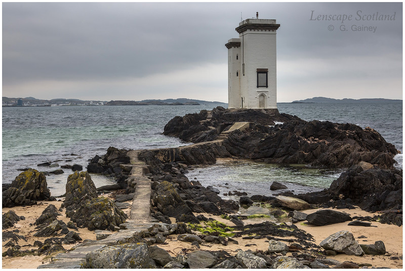 Carraig Fhada lighthouse, near Port Ellen