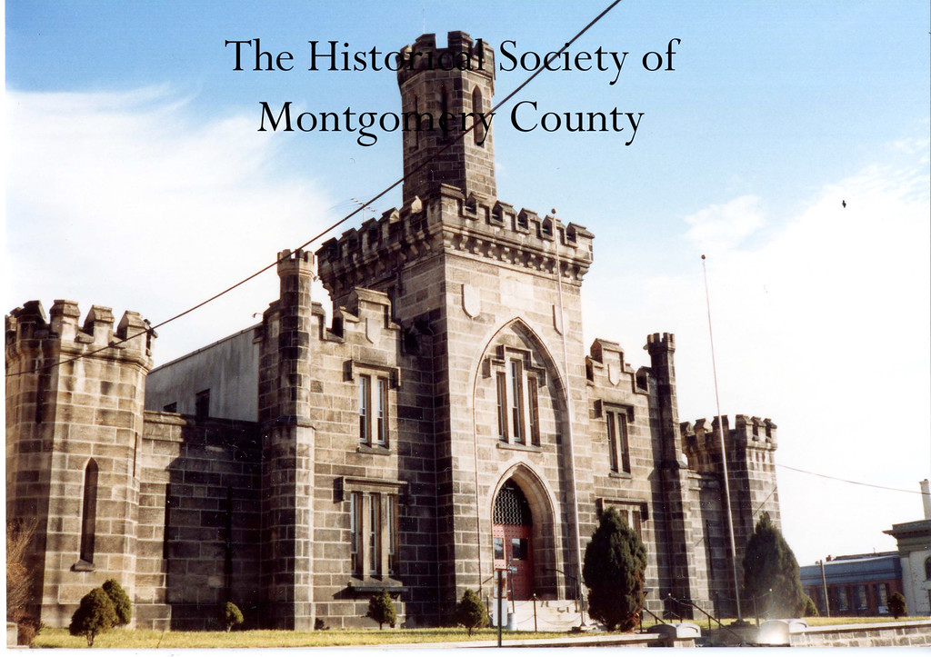. This photo from the Historical Society of Montgomery County shows the prison in Norristown in the 1980s.