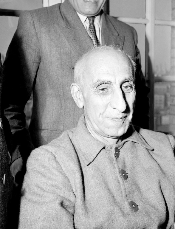. 1951: Mohammad Mossadegh. Iranian Premier Dr. Mohammed Mossadegh appears in October 1951. Mossadegh, a strict nationalist, was prime minister of Iran from 1951 to 1953. He was twice appointed to office by Mohammad Reza Pahlavi, the shah of Iran, and approved by the vote of parliament, but was removed from power by the shah in 1953. (AP Photo)