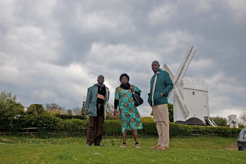 A windy visit to Jack and Jill Windmills, Ditchling