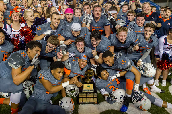 3A WIAA Football - Eastside Catholic Celebration