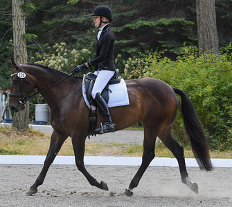 Lizzy Knight & Vixen at  WHIDBEY ISLAND Horse Trials July 2018
