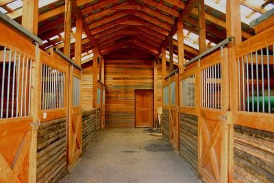 Moose River Ranch -- Stables