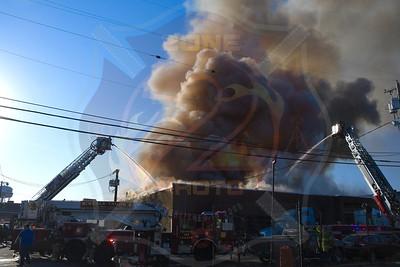 Westbury F.D. Working Fire  Magnolia Ave. 3/10/21
