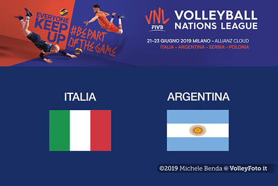 20190622 ITALIA vs ARGENTINA Pool14 Week4 (Maschile)