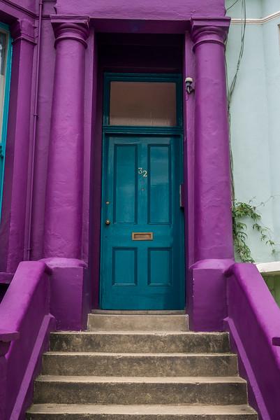 The beautiful doors of London