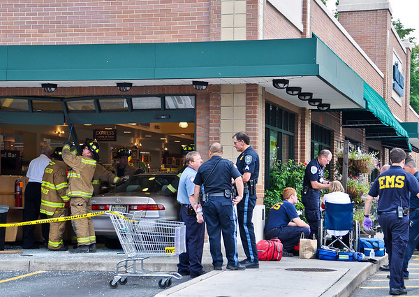 6-27-10 Ridgewood, NJ Car Vs. Building: 44 Godwin Avenue, Whole Foods