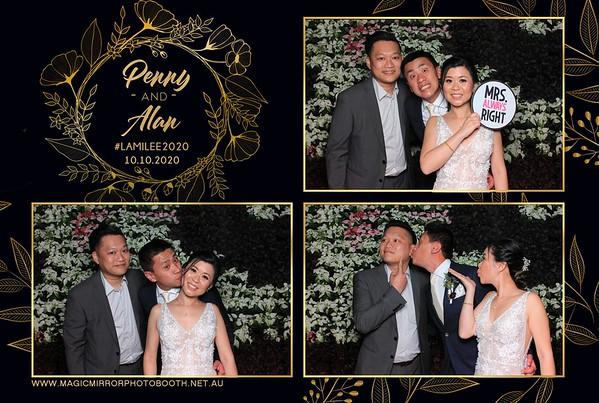 Penny & Alan's wedding - The Calyx
