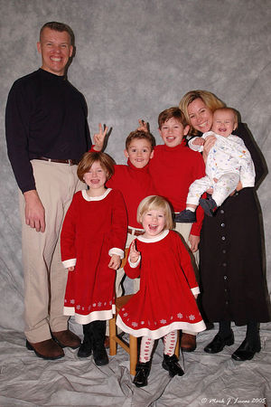 Gelbach family portraits