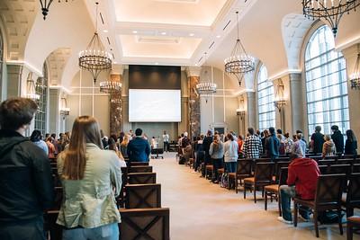 Bishop Joseph Walker in Chapel 10/18