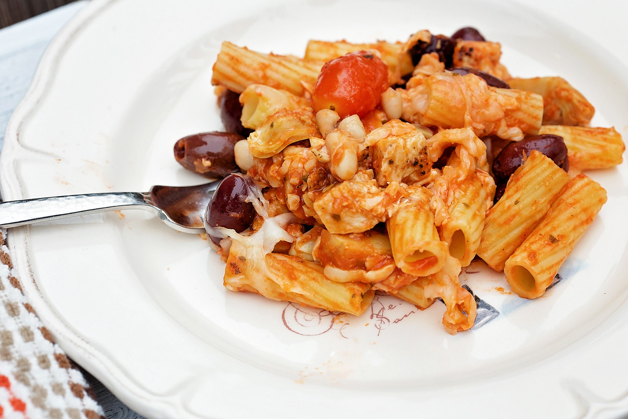 Delicious and Easy Mediterranean Pasta Bake