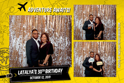 10/12/19 Latalya's 30th Birthday