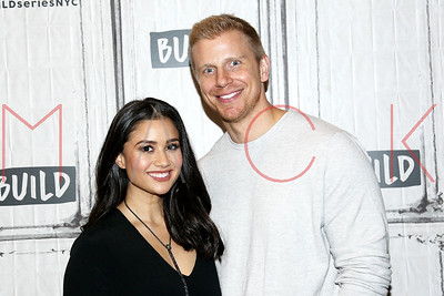 """NEW YORK, NY - OCTOBER 04:  Build presents Catherine and Sean Lowe discussing """"Worst Cooks In America"""" at Build Studio."""