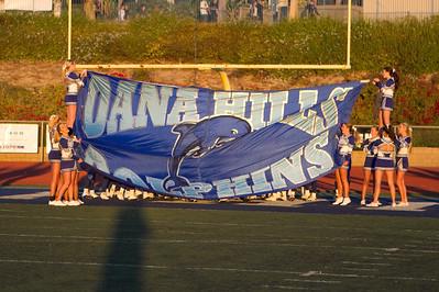Varsity vs. Santiago Corona Sept 3, 2010