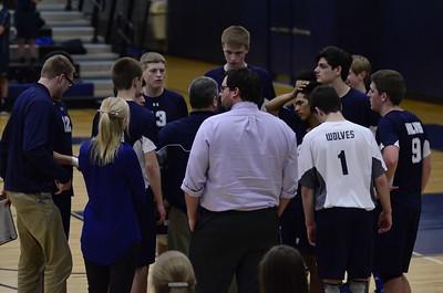 OE Varsity Boys Volleyball Vs Plainfield No. 2015