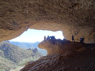 2013-11-28 Wave Cave Superstition Wilderness
