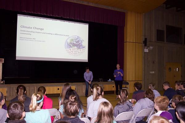 Edward Cameron Upper School talk