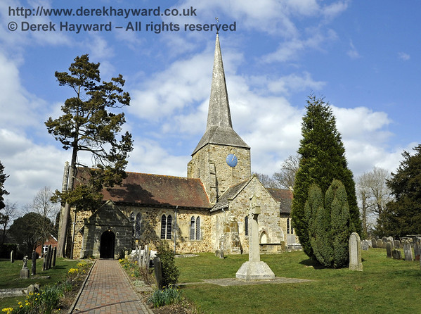 St Giles Church, Horsted Keynes, Sussex