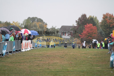 Girls Division 1 Finish - 2012 Portage Invite