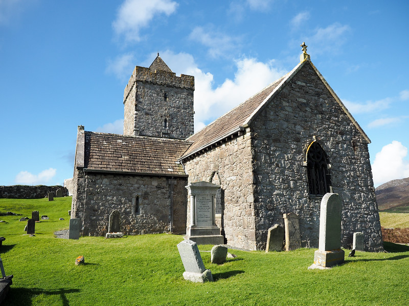 St. Clement's Church in Rodel, Isle of Harris