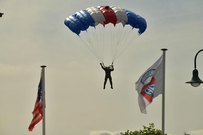 Parachute drop