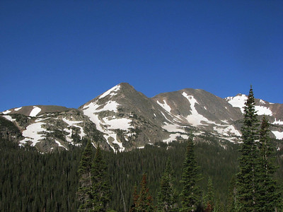 Arapaho Glacier & South Peak 6-29-2007