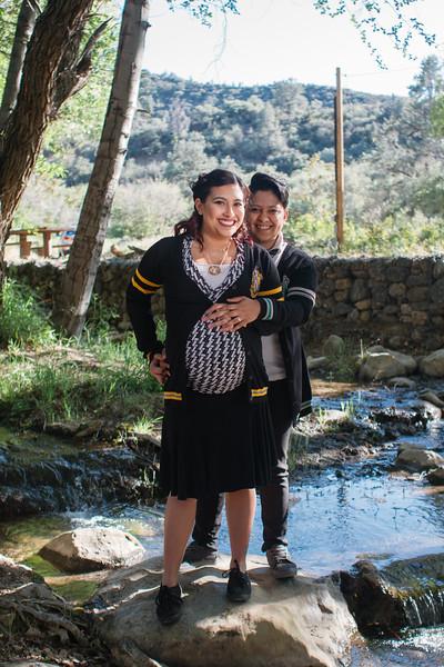 Megan and Diana Harry Potter Maternity Shoot-1.jpg