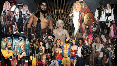 Team Zebra's Costume Parties