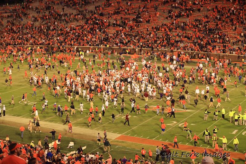 Storm the Field - Death Valley - Clemson University