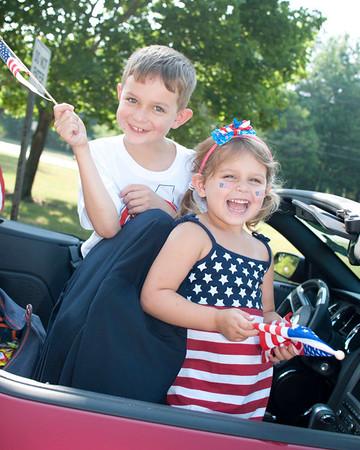 Westlake Fourth of July Parade 2012