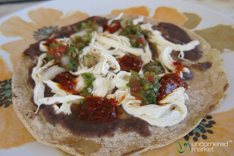 Memelas for Breakfast - Oaxaca, Mexico