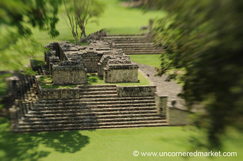 Mayan Ruins, Ball Court - Copan Ruinas, Honduras