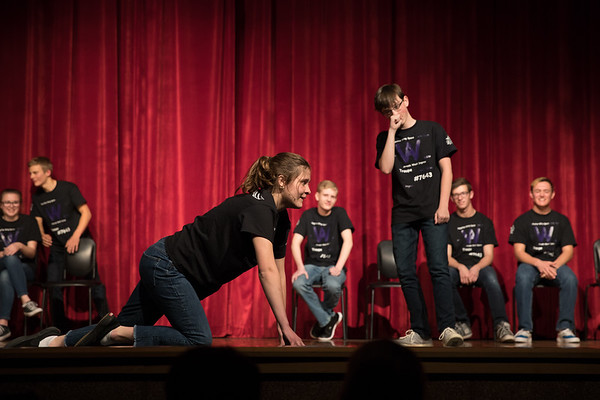 Arvada West Improv Troupe Fall Show 2017