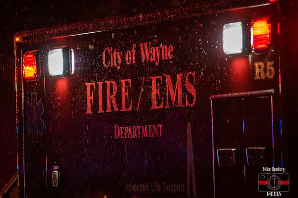 Wayne MI, Commercial Fire 11-27-2019