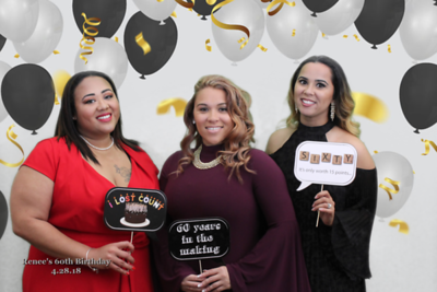 4.28.18 Renee's 60th Birthday Party (Green Screen)