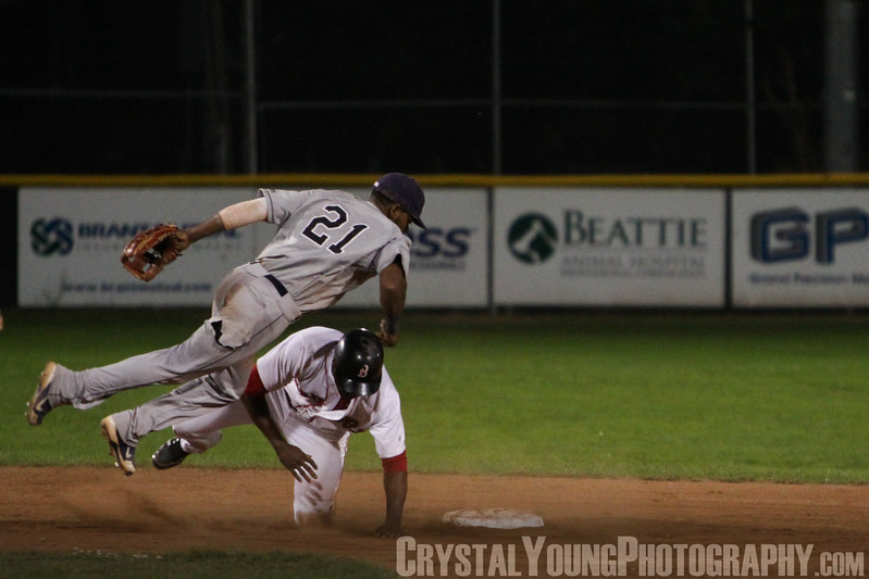 Barrie Baycats at Brantford Red Sox IBL Playoffs, Finals Game 3 September 1, 2013