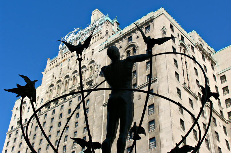 The Royal York Hotel. I stayed here 13 years earlier on my last visit to Toronto.