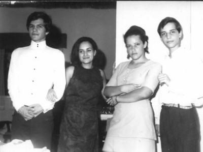 José João, Janeca, Linda e  Miguno Mendonça
