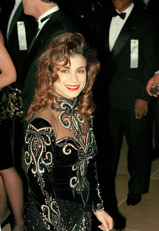 . Singer and dancer Paula Abdul is pictured in 1990. (AP Photo)